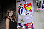 One Life To Live Kelley Missal sees My Big Gay Italian Wedding on March 18, 2011 (also 3-17- & 3-20) at St. Luke's Theatre, New York City, New York. (Photo by Sue Coflin/Max Photos)