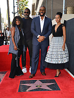 LOS ANGELES, CA. October 01, 2019: Crystal Fox, Idris Elba, Tyler Perry & Kerry Washington at the Hollywood Walk of Fame Star Ceremony honoring Tyler Perry.<br /> Pictures: Paul Smith/Featureflash