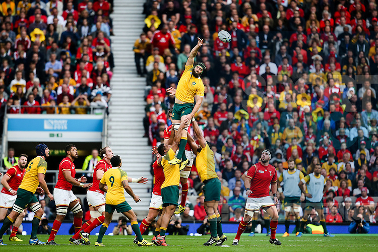 Australia's Kane Douglas - Rugby World Cup 2015 - Pool A - Australia v Wales - Twickenham Stadium - London- England - 10th October 2015 - Picture Charlie Forgham Bailey/Sportimage