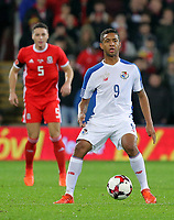 Gabriel Torres of Panama during the international friendly soccer match between Wales and Panama at Cardiff City Stadium, Cardiff, Wales, UK. Tuesday 14 November 2017.