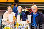 Enjoying the Mercy Mounthawk Secondary School Bingo Fundraiser on Sunday were Mary O'Brien, Margaret O'Brien and Paul O'Brien from Spa Road, Tralee