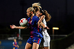 Spanish Women's Football League Iberdrola 2017/18 - Game: 9.<br /> FC Barcelona vs Madrid CFF: 7-0.<br /> Toni Duggan vs Paula Serrano.