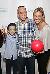 Max Gottfried, Gilbert Gottfried and Dara Kravitz attends the Paul Rudd hosts the Sixth Annual Paul Rudd All Star Bowling Benefit for (SAY) on January 22, 2018 at the Lucky Strike Lanes in New York City.