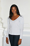 """One Life To Live Renee Elise Goldsberry stars as Princess of France in """"Love's Labor's Lost written by William Shakespeare on October 18, 2011 through November 6 at the Public Theatre, New York City, New York.  (Photo by Sue Coflin/Max Photos)"""