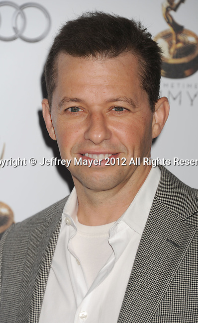 WEST HOLLYWOOD, CA - SEPTEMBER 21: Jon Cryer attends the 64th Primetime Emmy Awards Performers Nominee reception held at Spectra by Wolfgang Puck at the Pacific Design Center on September 21, 2012 in West Hollywood, California.