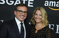 www.acepixs.com<br /> <br /> November 1 2017, LA<br /> <br /> Actor Steve Carell and his wife Nancy Carell arriving at the premiere of 'Last Flag Flying' at the DGA Theater on November 1, 2017 in Los Angeles, California<br /> <br /> By Line: Peter West/ACE Pictures<br /> <br /> <br /> ACE Pictures Inc<br /> Tel: 6467670430<br /> Email: info@acepixs.com<br /> www.acepixs.com