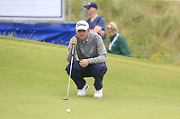Bernd Wiesberger (AUT) on the 17th green during Saturday's Round 3 of the Dubai Duty Free Irish Open 2019, held at Lahinch Golf Club, Lahinch, Ireland. 6th July 2019.<br /> Picture: Eoin Clarke | Golffile<br /> <br /> <br /> All photos usage must carry mandatory copyright credit (© Golffile | Eoin Clarke)