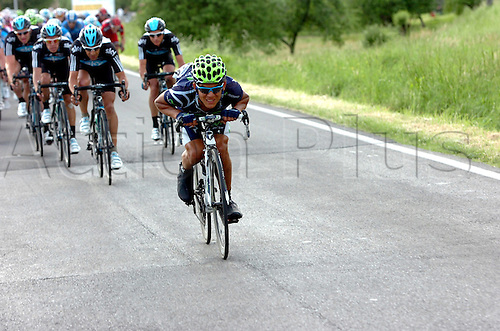 16.05.2012. Assisi, Italy.  Giro d'Italia, stage 11 Assisi to   Montecatini Terme, Movistar 2012, Vico