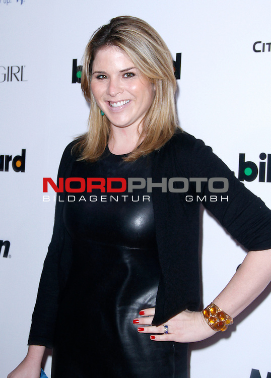 Jenna Bush Hager attends the 2013 Billboard Women in Music Luncheon at Capitale in New York City, New York on December 10, 2013.   <br /> Foto &copy;  nph / Pixsell <br /> ***** Attention only in GER *****