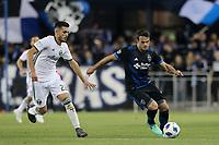 San Jose, CA - Saturday May 05, 2018: Cristhian Paredes, Vako during a Major League Soccer (MLS) match between the San Jose Earthquakes and the Portland Timbers at Avaya Stadium.