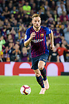 Ivan Rakitic of FC Barcelona in action during the La Liga 2018-19 match between FC Barcelona and Sevilla FC at Camp Nou Stadium on October 20 2018 in Barcelona, Spain. Photo by Vicens Gimenez / Power Sport Images