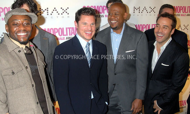 WWW.ACEPIXS.COM . . . . . ....January 22nd, 2007, New York City. ....Omar Epps, Forest Whitaker and Jeremy Piven attend the Cosmopolitan Magazine Honoring Nick Lachey as Fun Fearless Man of the Year at Cipriani. ......Please byline: KRISTIN CALLAHAN - ACEPIXS.COM.. . . . . . ..Ace Pictures, Inc:  ..(212) 243-8787 or (646) 769 0430..e-mail: info@acepixs.com..web: http://www.acepixs.com