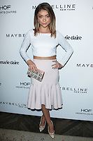 WEST HOLLYWOOD, CA, USA - APRIL 08: Sarah Hyland at the Marie Claire Fresh Faces Party Celebrating May Cover Stars held at Soho House on April 8, 2014 in West Hollywood, California, United States. (Photo by Celebrity Monitor)