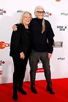 Margarethe von Trotta und Jane Campion bei der Verleihung der Film Festival Cologne Awards 2017 auf dem 27. Film Festival Cologne im Börsensaal der IHK. Köln, 06.10.2017
