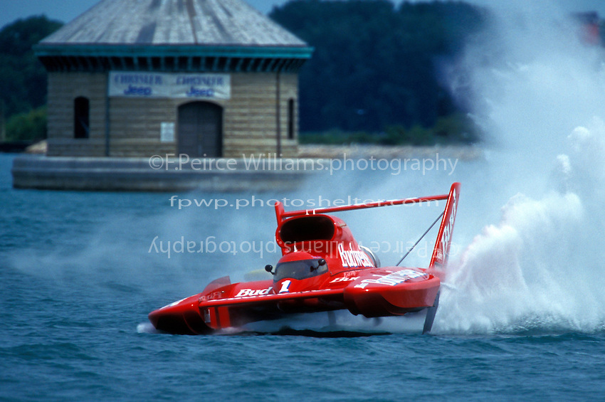 "Dave Villwock, U-1 ""Miss Budweiser""     (Unlimited Hydroplanes)"