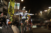 What a weekend for Mathieu Van der Poel (NLD/BKCP-Corendon): 2 wins in the bag in as many days<br /> <br /> Superprestige Diegem 2015