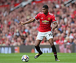 Manchester United's Marcus Rashford in action during the premier league match at Old Trafford Stadium, Manchester. Picture date 13th August 2017. Picture credit should read: David Klein/Sportimage