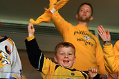 June 5th 2017, Nashiville, TN, USA;  A Nashville Predators fan is shown during Game 4 of the Stanley Cup Final between the Nashville Predators and the Pittsburgh Penguins, held on June 5, 2017, at Bridgestone Arena in Nashville, Tennessee.