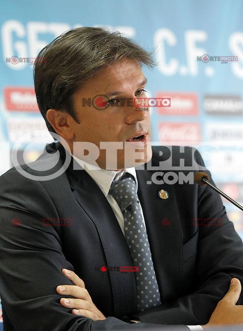 Getafe's General Manager Toni Munoz. September 13, 2012. (ALTERPHOTOS/Acero) /NortePhoto.com<br /> <br /> **CREDITO*OBLIGATORIO** *No*Venta*A*Terceros*<br /> *No*Sale*So*third*...
