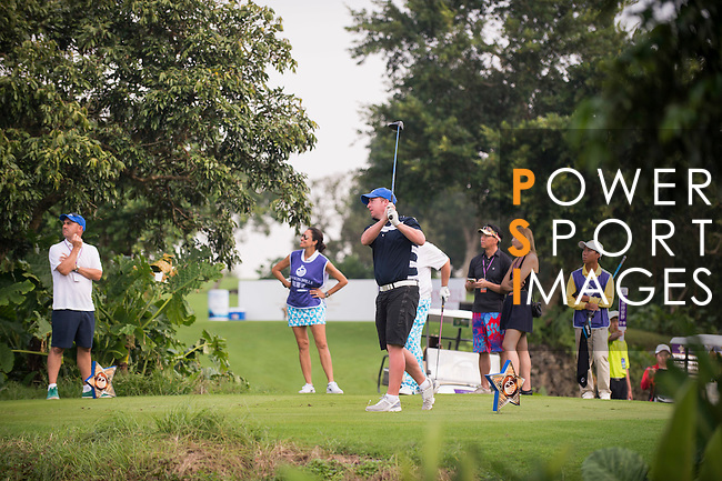 Robbie Fowler plays during the World Celebrity Pro-Am 2016 Mission Hills China Golf Tournament on 23 October 2016, in Haikou, Hainan province, China. Photo by Marcio Machado / Power Sport Images