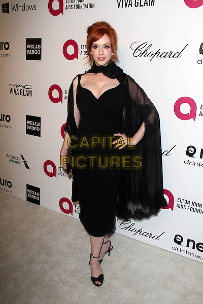WEST HOLLYWOOD, CA - March 02: Christina Hendricks at the 22nd Annual Elton John AIDS Foundation Oscar Viewing Party Arrivals, Private Location, West Hollywood,  March 02, 2014. <br /> CAP/MPI/JO<br /> &copy;JO/MPI/Capital Pictures