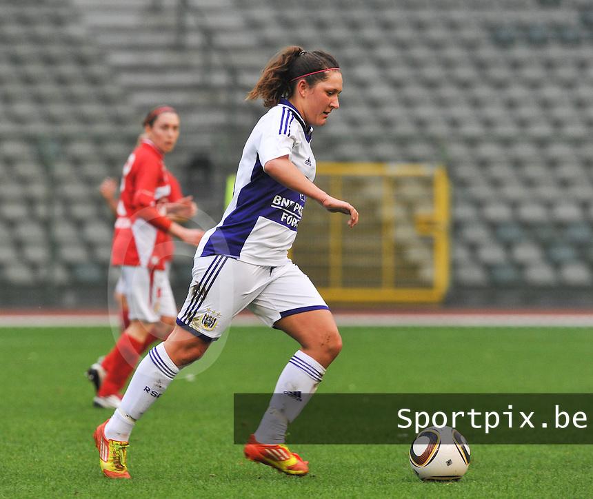 RSC Anderlecht Dames - Standard Femina de Liege : Laurence Marchal.foto DAVID CATRY / Vrouwenteam.be