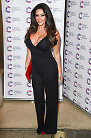 Casey Batchelor<br /> arriving at James Ingham&rsquo;s Jog On To Cancer, in aid of Cancer Research UK at The Roof Gardens in Kensington, London. <br /> <br /> <br /> &copy;Ash Knotek  D3248  12/04/2017