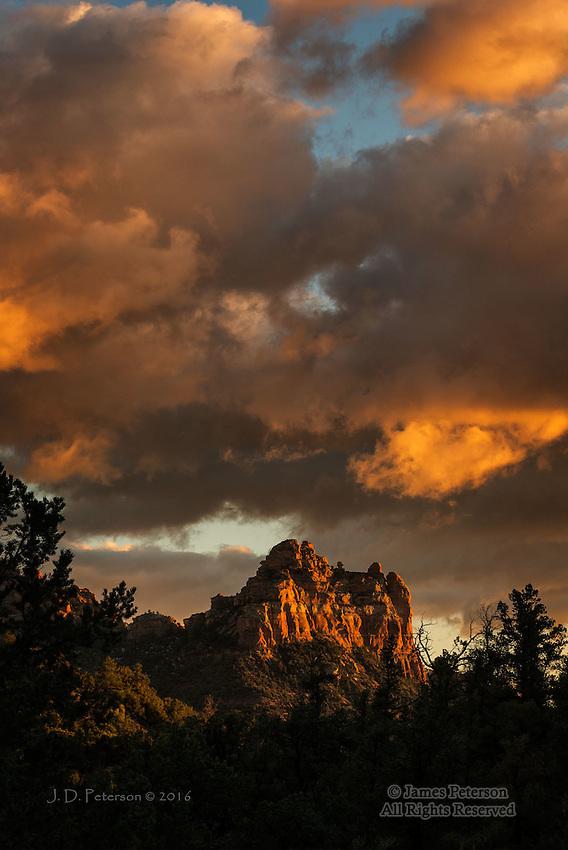 December Sunset, Sedona, Arizona
