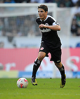 FUSSBALL   1. BUNDESLIGA  SAISON 2012/2013   7. Spieltag   Borussia Moenchengladbach - Eintracht Frankfurt   07.10.2012 Pirmin Schwegler (Eintracht Frankfurt)  Einzelaktion am Ball
