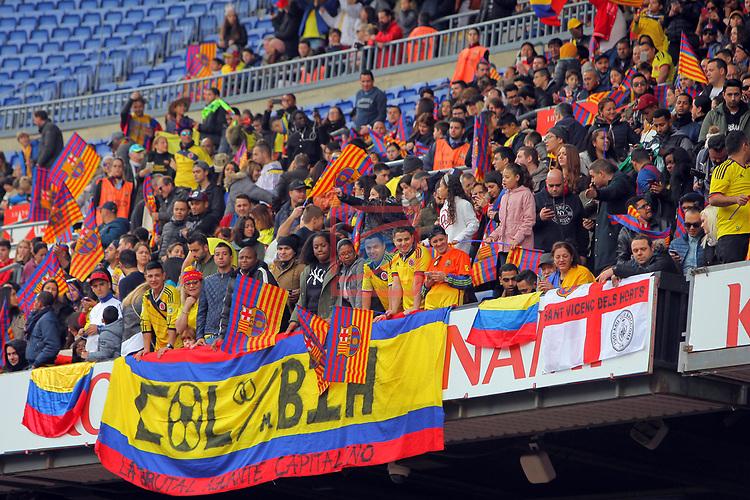Presentation of Yerri Mina as New Player of the FC Barcelona.