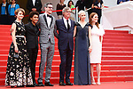 Cannes Film Festival 2017 - Day 2. Actresses Michelle Williams, Julianne Moore, Director Todd Haynes, actor Jaden Michael, producer Pamela Koffler and Screenwriter Brian Selznick on the red carpet for the screenings of Wonderstruck during the 70th edition of the Festival International du Film on 18/05/2017 in Cannes, France.  © Pierre Teyssot