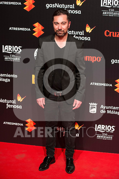 Kiko Martinez attends to the cocktail presentation of the XIX Malaga Film Festival at Circulo de Bellas Artes in Madrid. April 06, 2016. (ALTERPHOTOS/Borja B.Hojas)