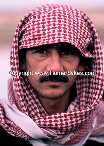 Marsh Arabs. Southern Iraq. Circa 1985. Marsh Arab man.