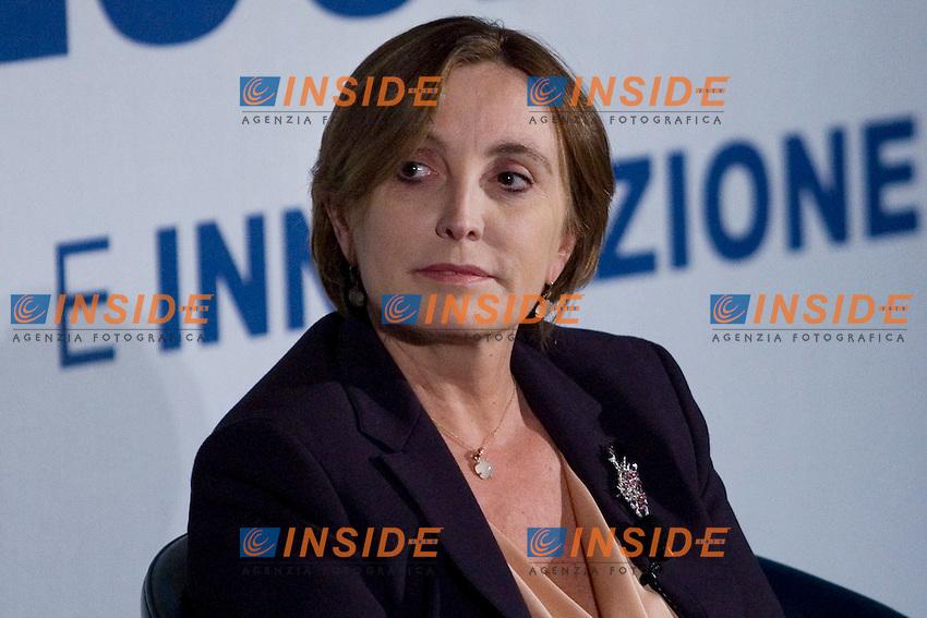 IX GIORNATA DELLA RICERCA E INNOVAZIONE DI CONFINDUSTRIA..NELLA FOTO   IL DIRETTORE GENERALE DELLA RAI LORENZA LEI..ROMA 9 NOVEMBRE  2011..PHOTO  SERENA CREMASCHI INSIDEFOTO..............................