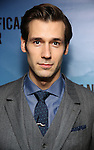 """John Behlmann attends the Broadway Opening Night performance after party for """"Significant Other"""" at the Redeye Grill on March 2, 2017 in New York City."""
