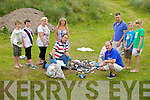 DISGUSTING: Locals and visitors to the Maharees were left disgusted that illegal campers walked away and left broken bottles and rubbish strewn all around. DISGUSTING: Locals and visitors to the Maharees were left disgusted that illegal campers walked away and left broken bottles and rubbish strewn all around. Pictured were: Frank Graham, Monica Graham, Caroline Madigan, Pierse Ferriter, Brendan Courtney, Stephen Barrett, Jack McElligott, Neil Wouelfe and Ciara Butler.