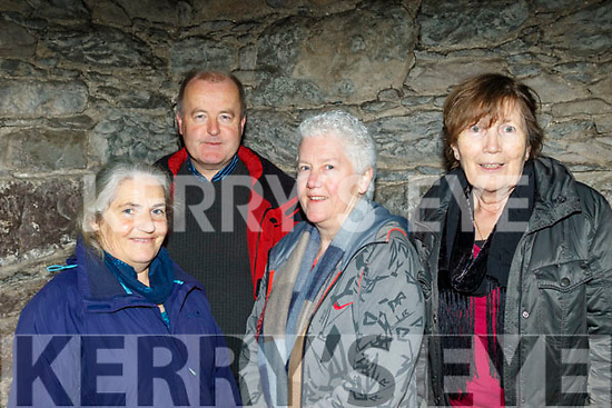L-R Una Sheahan&John Lynch, Lispole, with Maura Francis&Eileen McGowan, Dingle attending the New Dingle Choir&Orchestra performance in St Mary's church, Dingle on December 22nd last.