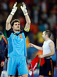 Iker Casillas, Soccer Football - 2010 FIFA World Cup - Johannesburg, South Africa, Saturday, 03, July, 2010. Round of eight, quarter-finals, Spain vs Paraguay, Ellis Park Stadium 03.7.2010. (credit & photo: Pedja Milosavljevic / +381 64 1260 959 / thepedja@gmail.com / STARSPORT )