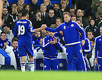 Chelsea's Diego Costa gets substituted to a chorus of boos<br /> <br /> Barclays Premier League- Chelsea vs Sunderland - Stamford Bridge - England - 19th December 2015 - Picture David Klein/Sportimage