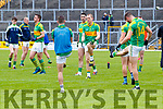 South Kerry in action against  Kerins O'Rahillys in the Kerry Senior Football Championship Semi Final at Fitzgerald Stadium on Saturday.