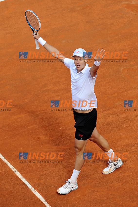 Tomas Berdych.Roma 17/05/2013 Foro Italico .Tennis Internazionali d'Italia 2013 .Foto Antonietta Baldassarre Insidefoto