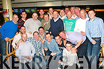 0200-0203.---------.Stag racing.-----------.Michael O'Dwyre(front 2nd from the Lt)of Horse&Jockey,Co Tipperary,who will marry Stacie Moore from Ballybunion on Sept 25th next in Killarney,had his stag night at Tralee Greyhound Stadium last Saturday night attended by his father,and relatives and friends from both counties