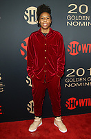 6 January 2018 - Los Angeles, California - Lena Waithe. Showtime Golden Globe Nominee Celebration held at the Sunset Tower Hotel in Los Angeles. Photo Credit: AdMedia