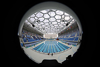 National Aquatics Center, also known as the Water Cube. Olympic Venues<br /> Olimpiadi Pechino 2008. Impianto Giochi Olimpici<br /> Foto Cspa/Insidefoto