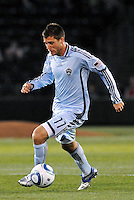 Colin Clark...Kansas City Wizards defeated Colorado Rapids 1-0 at Community America Ballpark, Kansas City, Kansas.