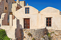 Agios Dimitrios church in the Byzantine castle-town of Monemvasia in Greece