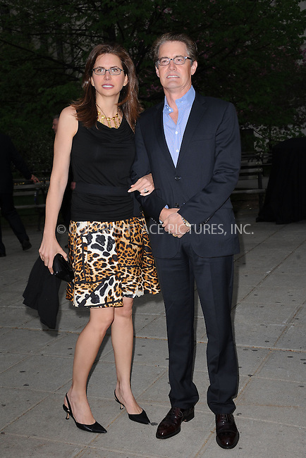 WWW.ACEPIXS.COM . . . . . .April 27, 2011...New York City..Desiree Gruber and Kyle McLaughlin attend the Vanity Fair party during the 10th annual Tribeca Film Festival at State Supreme Courthouse on April 27, 2011 in New York City....Please byline: KRISTIN CALLAHAN - ACEPIXS.COM.. . . . . . ..Ace Pictures, Inc: ..tel: (212) 243 8787 or (646) 769 0430..e-mail: info@acepixs.com..web: http://www.acepixs.com .
