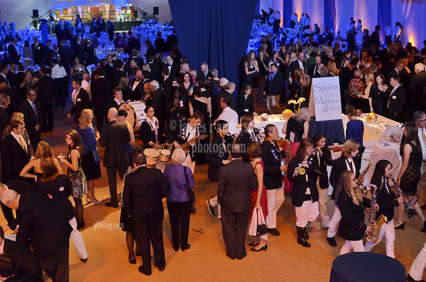 Blue Leadership Ball 2011, Yale University Athletics. Ball and Awards Presentation, Lanman Center, Payne Whitney Gymnasium.