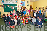 Xmas Party: Young members of Finuge CCE enjoying their Christmas party held at Finuge GAA clubhouse on Sunday afternoon last.