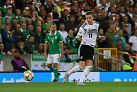 Marco Reus (Deutschland, Germany) - 09.09.2019: Nordirland vs. Deutschland, Windsor Park Belfast, EM-Qualifikation DISCLAIMER: DFB regulations prohibit any use of photographs as image sequences and/or quasi-video.